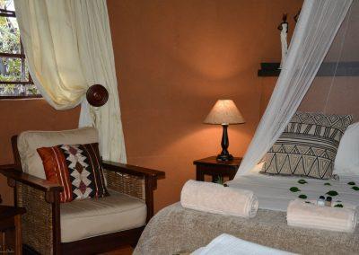 Rondavel bedroom