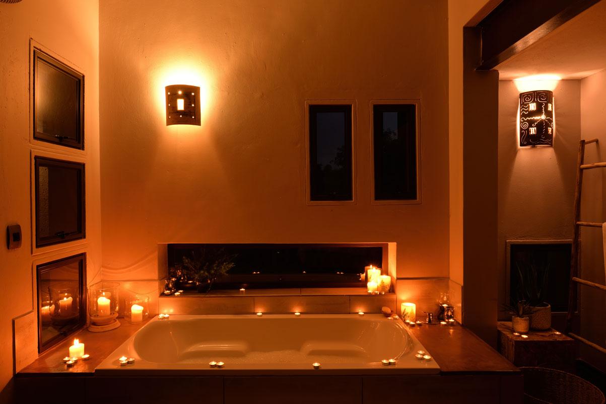 Luxury Unit bath for a summer safari